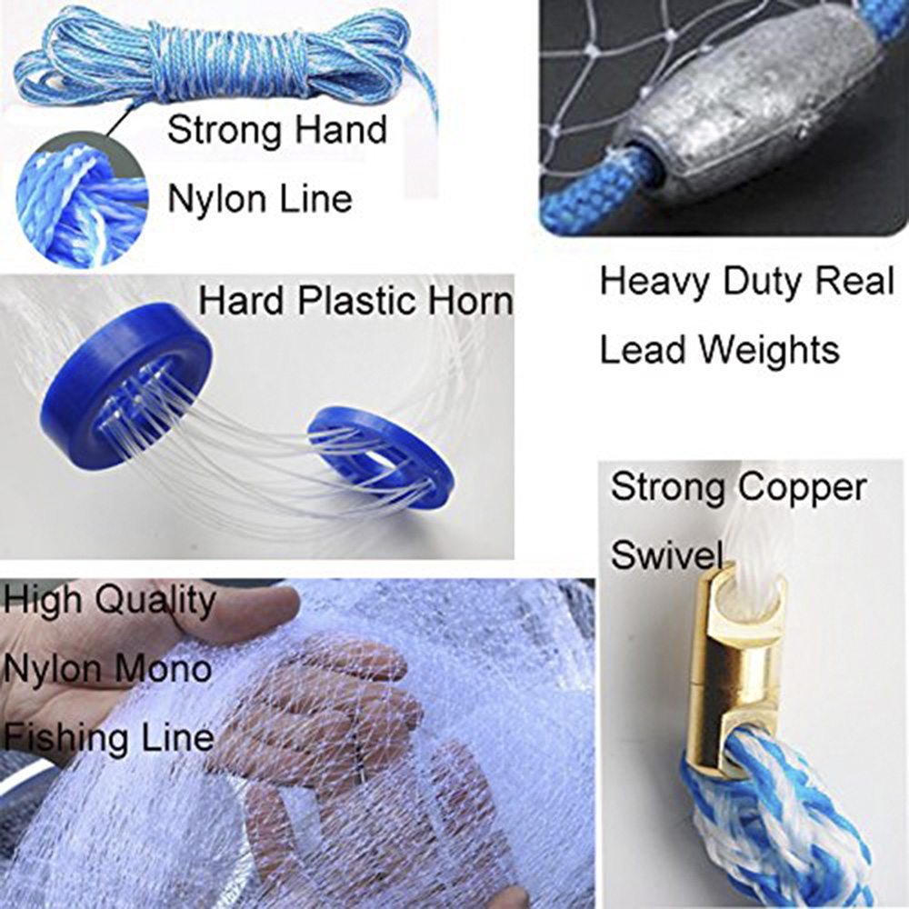 fishing cast net\'s all detail