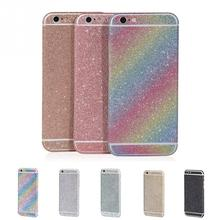 Buy 4.7inch Bling Shining Vinyl Shiny Crystal Diamond Full Body Front Back Wrap Decal Film Sticker Skin iPhone 6/ 6S for $1.15 in AliExpress store