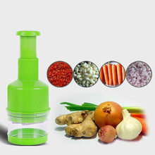 Onion Slicer Multifunctional Kitchen Chopper Vegetable Cutter Creative Manual Garlic(China)