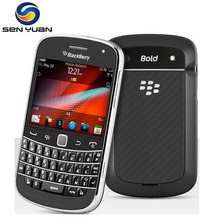 Original Unlocked Blackberry 9900 Cell Phone  3G QWERTY+Touch screen 2.8' WiFi GPS 5.0MP 8GB ROM blackberry 9900 Mobile Phone