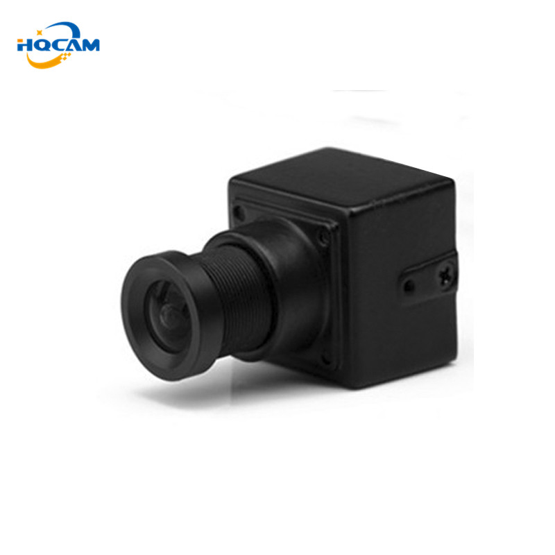 HQCAM Wholesale Size 20x20mm 550tvl Sony CCD Cheap Smallest Camera CCTV For FPV with 3.6mm board lens for Lots 100Per piece<br>