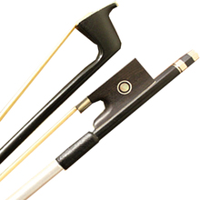 High Quality 4/4 Carbon Fiber Violin Bow Graphite Black Bow 4/4 Acoustic Violin Bow(China)