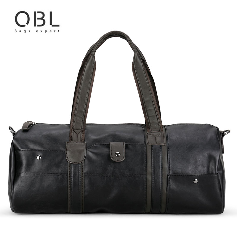 QiBoLu Vintage Large Capacity Handbags Men Shoulder Tote Bag for Travel Business Sacoche Homme Bolso Hombre Bolsa Masculina 6002<br>