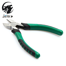 Jelbo 6 Inch Wire Strippers Sharp Mouth Pliers Diagonal Pliers Diagonal Cutting pliers Hardware Tools Maintenance Manual Pliers(China)