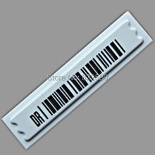 Free shipping EAS Soft label 58khz DR Label Self Adhesive Label