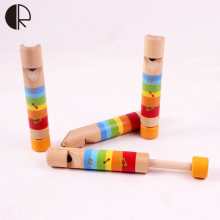 Wooden children pull whistle wood music toys HT164(China)