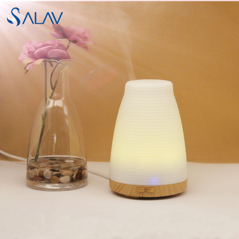 SALAV Ultrasonic Aroma Diffuser Humidifier Electric Essential Oil Aromatherapy Light Changing Color Mist Maker Refresh LBX102<br><br>Aliexpress