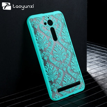 Case For ASUS ZenFone Go ZB500KL ZB500KG 5.0 inch Phone Housing Bag Cover Damask Vintage Flower Plastic Case Cover ZB500KL Shell