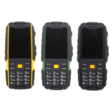 SUPPU X6000 Russian long standby Dual Card power bank FM radio shockproof IP67 100% real waterproof Rugged mobile phone