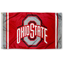 Ohio State Buckeyes Jersey Large Nation American Outdoor Indoor Hockey Baseball College Flag 3X5 Custom USA Any Team Flag