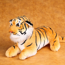 Tiger Stuffed Toys Lovely Simulation Animal Doll Plush Pillow For Kids Brinquedo Menina Birthday Gift Peluche Kawaii 60G0623