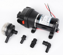 SURFLO KDP-35B DC 24V electric high pressure water pump heavy duty high flow 12.5LPM for garden watering/water dispensing/spray