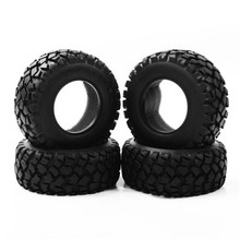4 PCS/Set RC 1:10 Short Course Truck Tires Set Tyre Wheel Rim For TRAXXAS SlASH HPI Remote Control Toy Car Model Toy Accessories