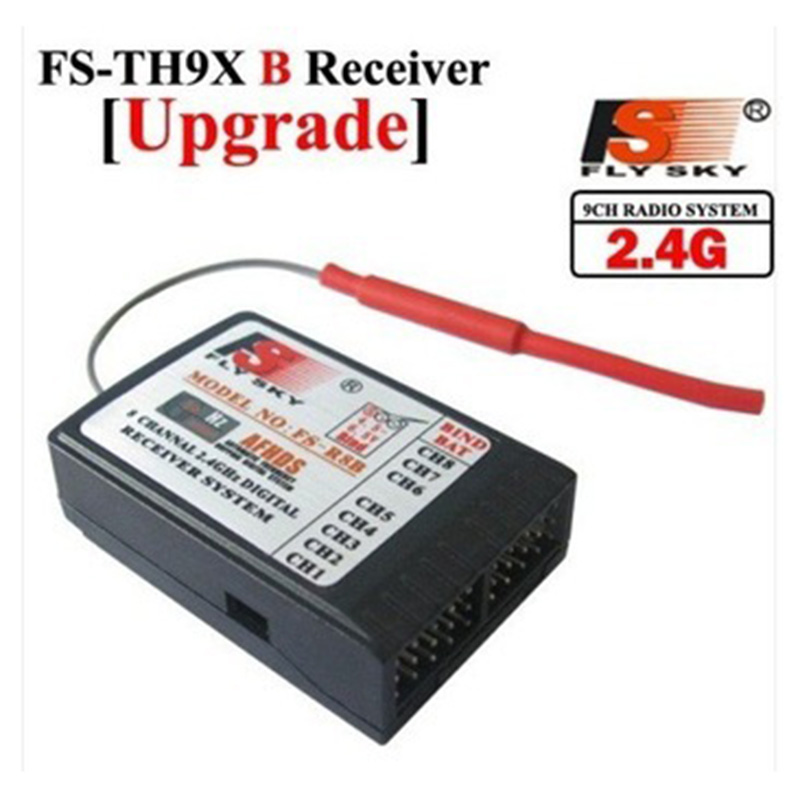 FlySky FS-R9B 2.4G 8CH RX 8 Channel Receiver for FS-TH9X FS-TH9X-B<br><br>Aliexpress