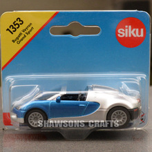 SIKU 1353 DIECAST MODEL CAR TOYS 1:64 BUGATTI VEYRON GRAND SPORT COUPE REPLICA(China)