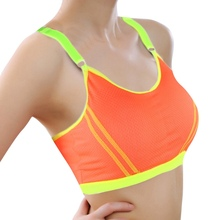 Women Stretch Bra Lady Casual Bras Seamless Breathable Push Up Fitness Bras Leisure(China)