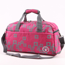 Fashion outdoor Waterproof Fitness Gym Bag Men Women Foldable Oxford Cloth Travel Handbags Sport Crossbody Bag 4colors hot
