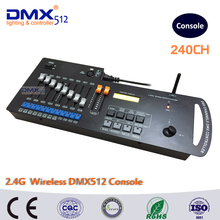 DHL Free shipping 240 Channels  2.4G Wireless DMX controller console, wifi dmx wireless controlled, dmx tranciever receiver