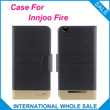 5 Colors Super! Innjoo Fire Case High quality Top quality new style High quality flip leather case For Innjoo Fire