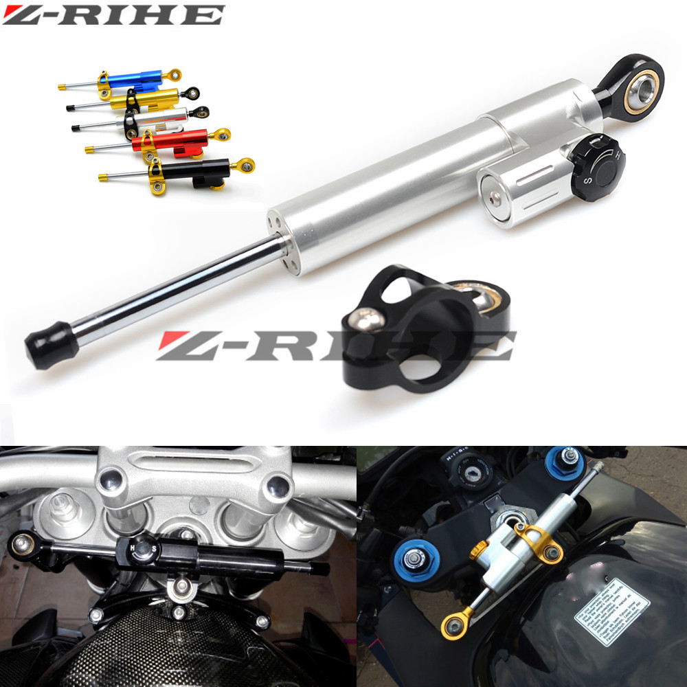for Kawasaki Z900 Z650 Z 650 Z 900  Universal Motorcycle Accessories Stabilizer Damper Steering for Yamaha MT 07 MT07 2014-2017<br>