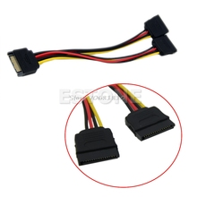 20CM SATA Power T/Y Splitter Extension Cable Adapter -R179 Drop Shipping(China)