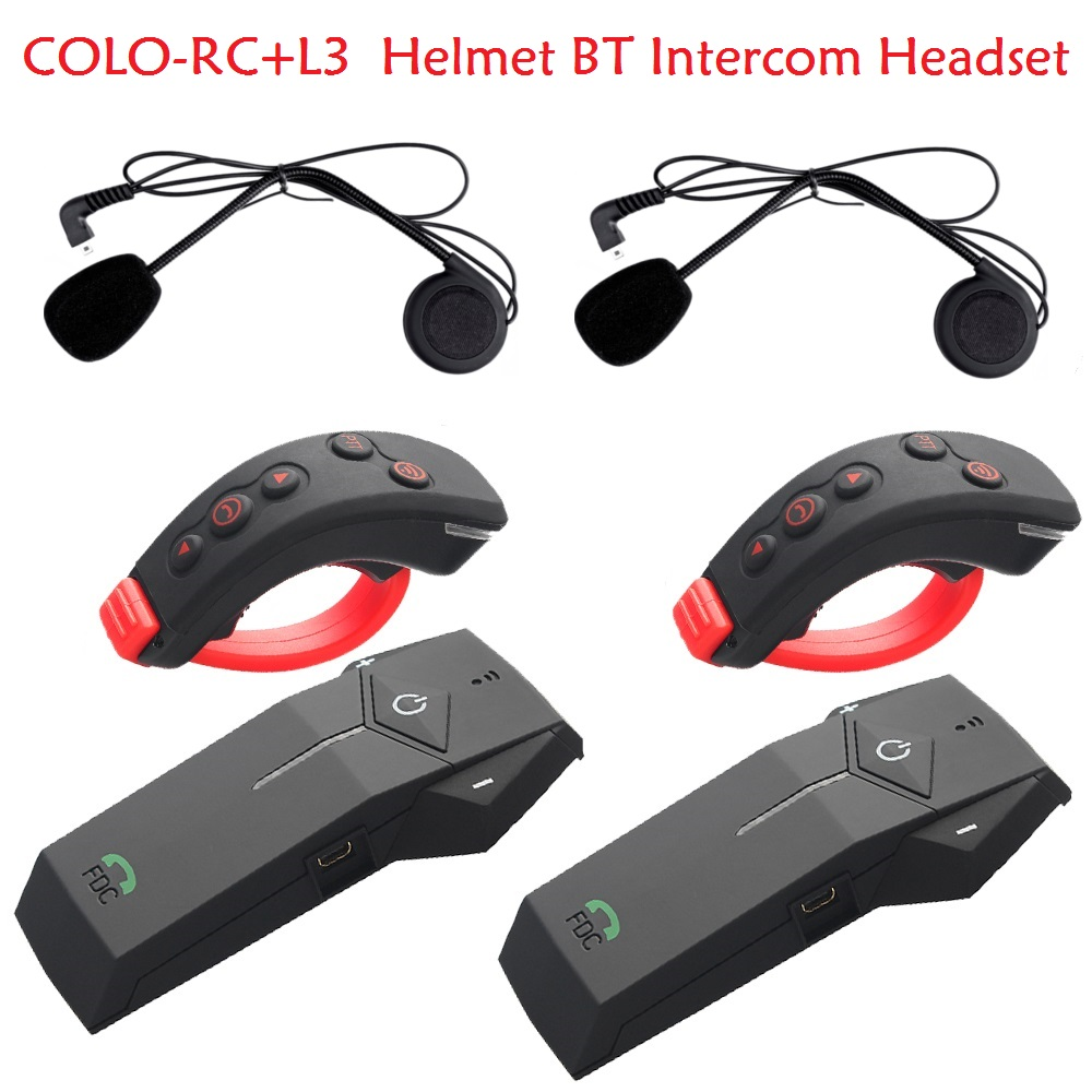 Bluetooth Intercom Headset COLO-RC+L3 (2)