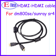 10pc/lot 1.5m  HDMI to HDMI Cable Support 1080P High Quality  New Premium Gold 5 for Satellite Recever Free Shipping Post