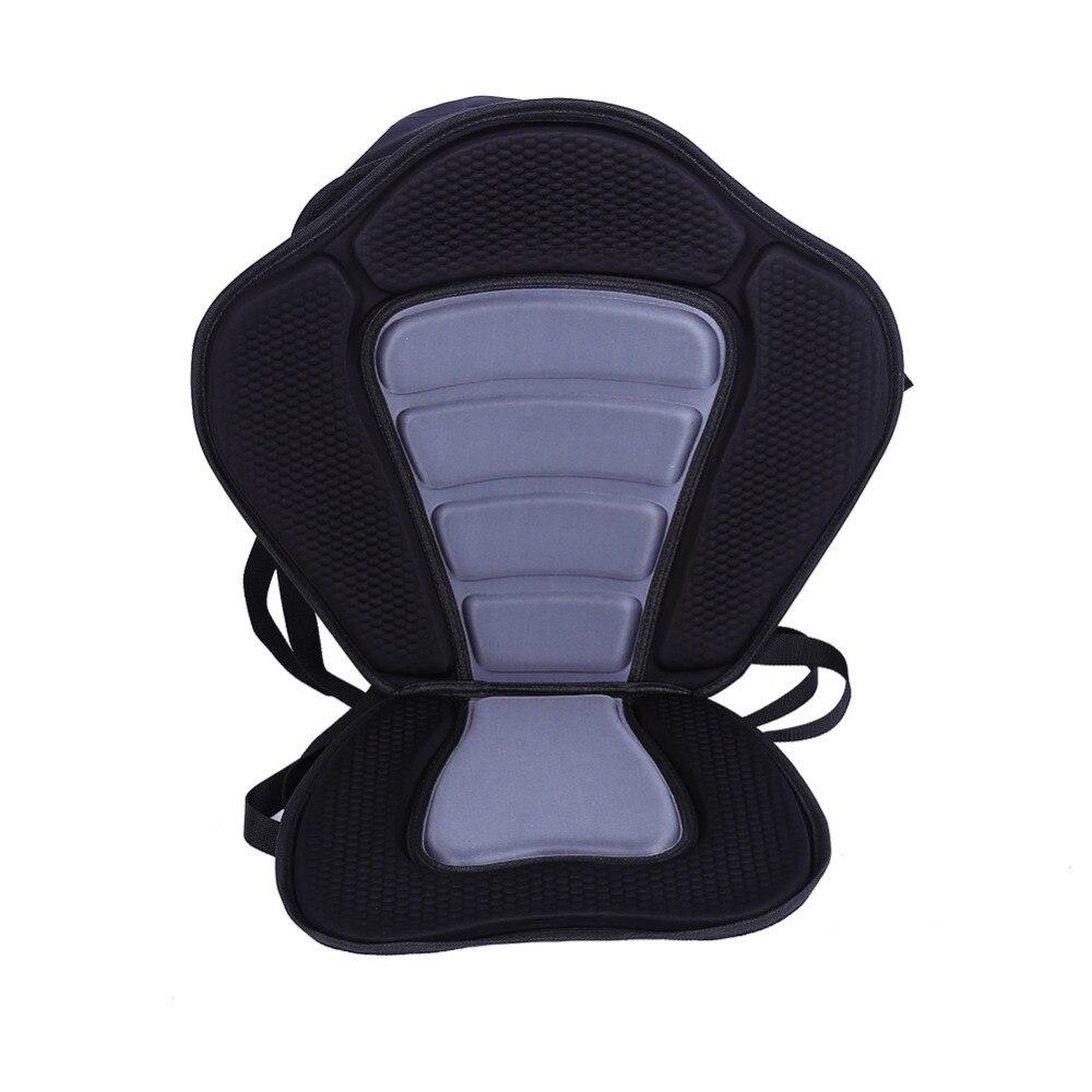 Adjustable Padded Kayak Seat+Detachable Canoe Backrest Back Padded Seat Kayak  Boat Accessories <br><br>Aliexpress