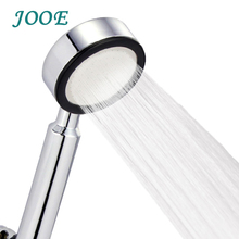 JOOE hand held high pressure shower head ABS with chrome water saving shower head bathroom accessories head shower douche