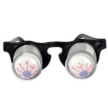 100% Brand new and high quality Funny Practical Jokes Drop Eyeball Pop Out Eye Glasses Prank Trick Toys Kids(China)
