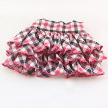 Armi store England Grid Dog Short Skirt Dogs Tutu Kilt 6071044 Pet Clothes With Skirts XS, S, M, L