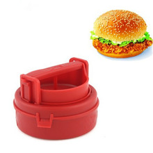 Hamburger Presses Maker Press Cutlets Stuffed Hamburger Mold Grill Kitchen Tools Manual Hamburger Forms Press Burger Gadgets(China)
