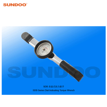Sundoo SDB-50 5-50N.m Handheld Dial Indicating Torque Wrench Tester