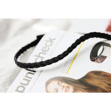 Fuloon U Pick Hot Bridal Wig Plait Braid Hair Band Headband Hippy Gypsy Bandeaux (nature black)