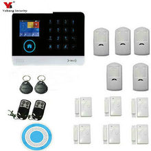 YobangSecurity 3G WCDMA/CDMA WIFI Alarm System Wireless Home Intruder Security Alarm System Support IOS Android APP Application