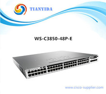 Core Manageable Switch WS-C3850-48P-E Catalyst C3850 Ethernet POE Switches