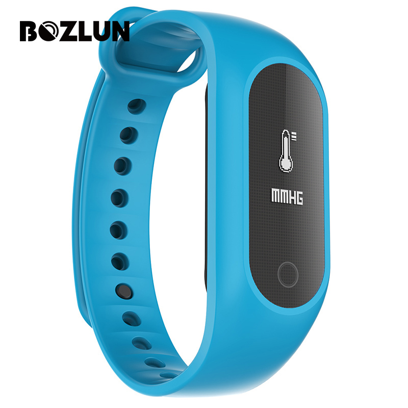 Bozlun B15S Men Women Sports Smart Bracelet Blood Oxygen Blood Pressure Mesh Surface Digital Wristwatches Pedometer Watch<br><br>Aliexpress