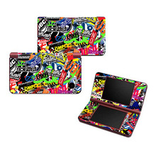 Hot Fashion Bombs Design Vinyl Skin Sticker Protector for Nintendo DSI XL for NDSI XL skins Stickers