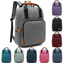 14 15 15.6 Inch Oxford Computer PC Laptop Notebook Backpack Bags Case School Backpack for Men Women Student Travel(China)