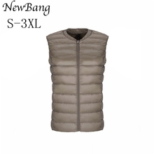 2017 New 90 Duck Down Vest Women's Ultra Light Down Portable Lightweigt Sleeveless Without Collar Winter Warm Liner(China)
