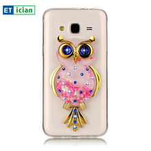 Buy Bling Case Samsung Galaxy J3 2016 Luxury Glitter Owl TPU Stand Transparent Cover Samsung Galaxy J3 Phone Accessory Girls for $4.24 in AliExpress store