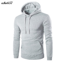 New and High Quality Men Coat Echo657 Hot Fashion Casual Men Retro Long Sleeve Hoodie Hooded Sweatshirt Tops Coat Outwear Dec 1