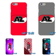 AZ Alkmaar Sports European Football Team Logo Soft Silicone TPU Transparent Cover Case For iPhone 4 4S 5 5S 5C SE 6 6S 7 Plus