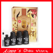 1set = 4 bottles Factory Price 100% Original real result New sunburst hair growth hair treatment / 50ml*6 bottles