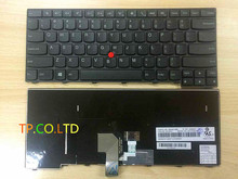 NEW for IBM Lenovo Thinkpad L440 E431 E440 keyboard US With Frame No backlit