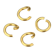 YYW 100PCs Gold-color Stainless Steel Open Ring 3.5/5/6/9mm Jump Rings DIY Making Jewelry Connector Accessoires Ring Findings