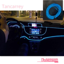 Car Interior Atmosphere Lights For Ford Focus 2 3 Fiesta Mondeo Kuga Citroen C4 C5 C3 Skoda Octavia 2 A7 A5 Rapid Accessories