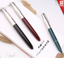 2pcs/lot High quality HERO 616# Fountain Pen Ink Pen Calligraphy Pen 0.5mm Classic Design Inside Nib Student Writing Stationery(China)