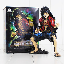 Banpresto Figure Colosseum Artist Monkey.D.Luffy Action Figure PVC Anime ONE Piece Model Toy Collections Christmas Gift with box