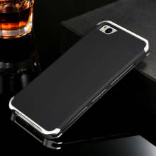 Metal Aluminum Border & Silicone Hard Back Cover Case For Xiaomi Mi 5 5S M5 Mi5 Mi5S Plus Luxury Mobile Phone Cover